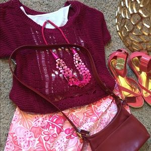 island company Dresses & Skirts - 💓1 Hour Sale🌸 Island Republic Pink Stretch Skirt