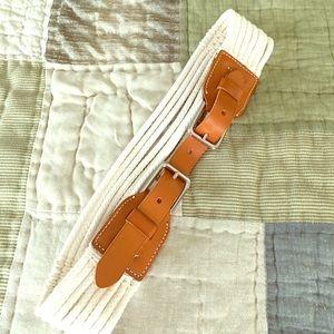 J. Crew belt.