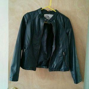 Gabriella Rocha Jackets & Blazers - Gabriella Rocha faux leather moto jacket NWOT