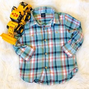 GAP Other - Adorable Flannel Button Down