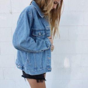 NWOT Mavi Jean Jacket