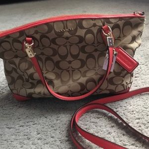 Coach neutral shoulder bag