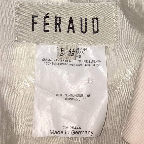 louis feraud Jackets & Coats - Feraud suit jacket