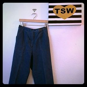 koret City blues Pants - Vintage mom jeans 90s high waisted denim pants