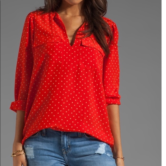 636d9ae844a59 Joie Tops - Joie Marlo Blouse XS