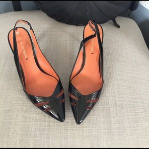Via Spiga patent leather heels