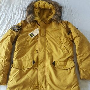 Alpha Industries Other - Alpha Industries Altitude Tumbleweed Parka Yellow