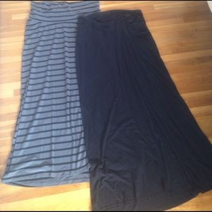 Old Navy Dresses & Skirts - Lot 2 maternity maxi skirts