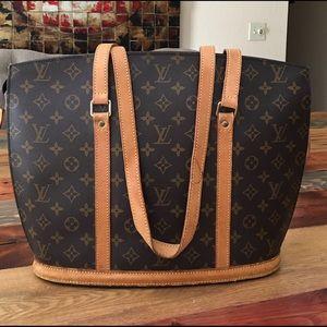 Louis Vuitton Handbags - 🔥SALE🔥AUTHENTIC LOUIS VUITTON BABYLONE TOTE BAG