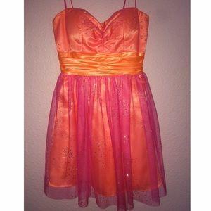 Pink/Orange Dress 💛