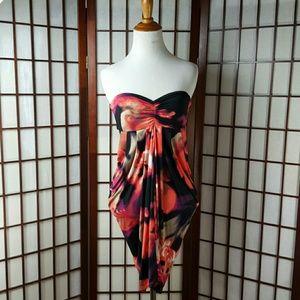 Baby Phat Dresses & Skirts - Strapless Draped Cute BABY PHAT Dress Sz S
