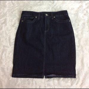 Nine West Denim - Nine West jean skirt