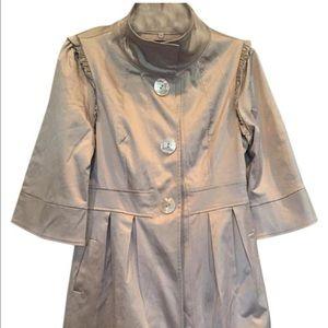 Double Zero Jackets & Blazers - Women's Trench Coat