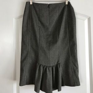 Rebecca Taylor Dresses & Skirts - Rebecca Taylor Fishtail back Pencil Skirt