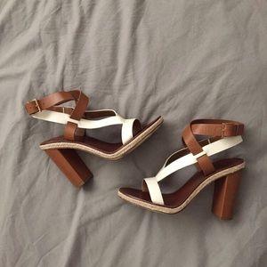 Tory Burch chunky heels