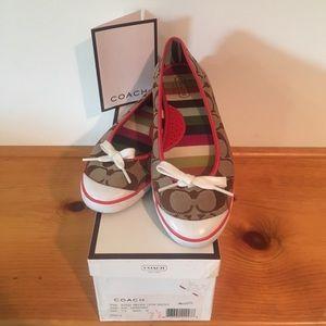 Coach Shoes - Authentic Coach flats -size 7.5