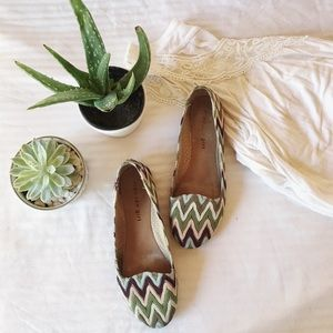 Madden Girl Shoes - Tribal Print Flats