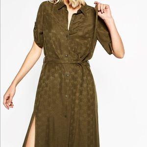 Zara Star Print long dress