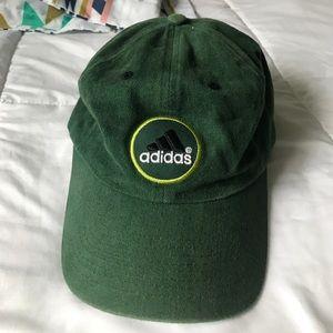 Adidas Other - Velcro strap green Adidas hat osfa baseball cap