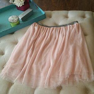 Xhilaration pink tulle skirt. Size XL