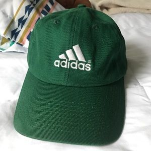 Adidas Other - Green Adidas hat baseball cap OSFA cotton