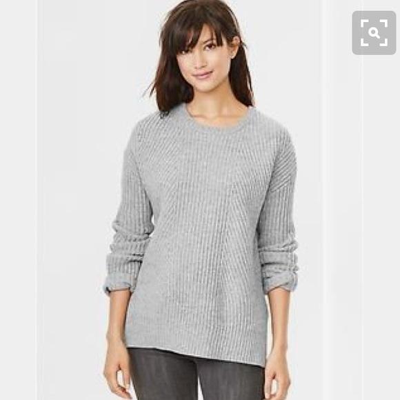 79% off GAP Sweaters - Gap gray boyfriend sweater wool from ...