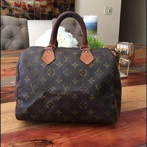 Louis Vuitton Handbags - 💥SALE💥AUTHENTIC LOUIS VUITTON SPEEDY 25