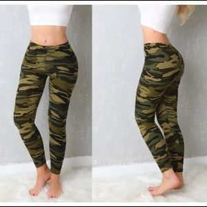 Pants - 🇺🇸BUTTERY SOFT 🇺🇸Army Camo Camouflage leggings