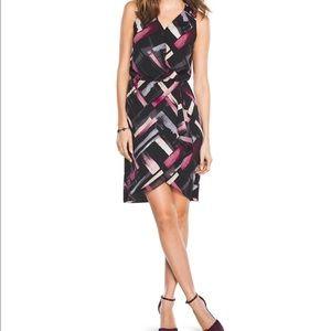 White House Black Market Dresses & Skirts - White House Black Market Printed Wrap Dress