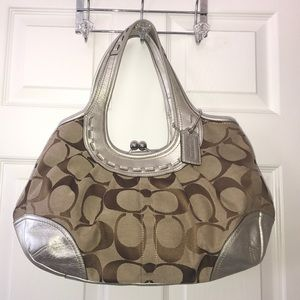 Coach handbag. Like new!