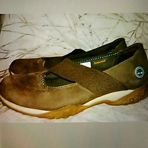 Timberland Shoes - TIMBERLAND BROWN SUEDE MARY JANES SIZE 9.5