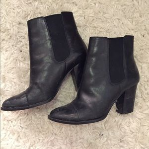 Saks Fifth Avenue Black Label Shoes - Saks 5th Avenue heeled booties