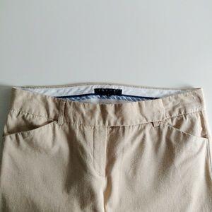 Theory Wide-Leg Khaki Pants