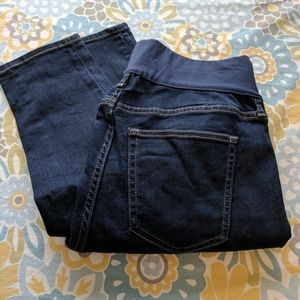 GAP Resolution True Straight Maternity Jeans