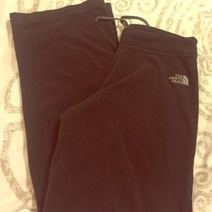 North Face fleece sweatpants