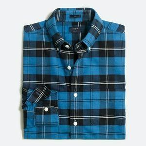 J. Crew Other - J. Crew slim plaid Oxford men's shirt large