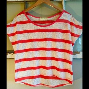 Staring at Stars Tops - ✨Staring At Stars✨Urban Outfitter! Lace stripes!