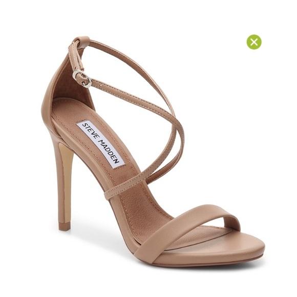 591c751e0ee Steve Madden Floriaa Feliz Nude Heel Sandal 7.5. M 58c7294c713fde462b01e49f