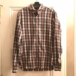 Isaia Other - Isaia Men's Button Down Long Sleeve Shirt Sz 15