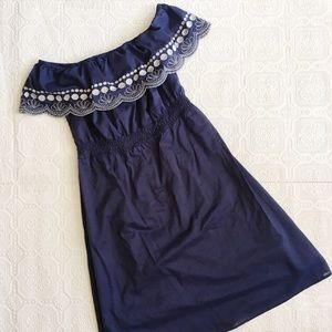 Calypso St. Barth Dresses & Skirts - Calypso St Barth Off Shoulder Embroidered Dress