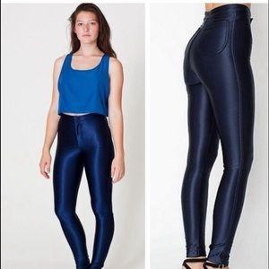 American Apparel Pants - NWT Navy Disco Pants