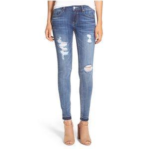 Vigoss Denim - Vigoss Chelsea Skinny released hem Destroyed jeans