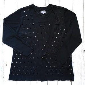 JM Collection Sweaters - JM Collection Cardigan Blouse