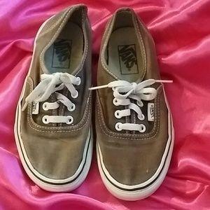Vans Shoes - VANS brown tennis shoes, retro