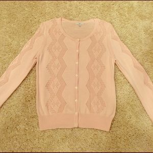 Light Pink GAP Cardigan