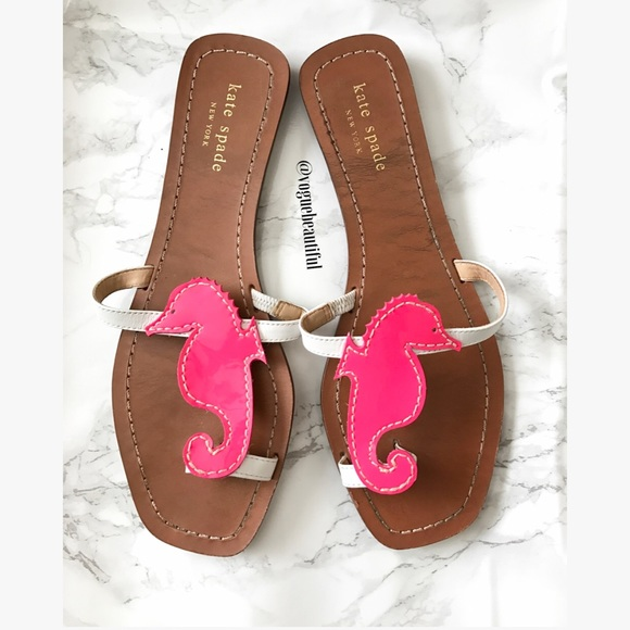 c8b379b50 kate spade Shoes - Kate Spade Pink Seahorse Sandals