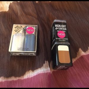 Hard Candy Other - 💔sale💔2 pc set glitter duo contour cheek duo 💔