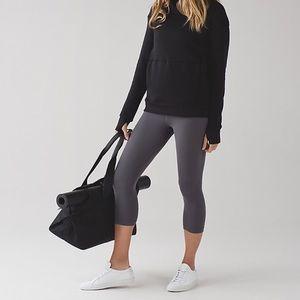 Louis Vuitton Pants - Lululemon Align Crop Dark Carbon