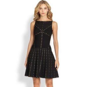 Herve Leger Dresses & Skirts - HERVE LEGER STUDDED DRESS