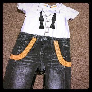 Petit Lem Other - One piece with shirt and pants design